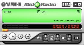 Скачать плеер для MIDI, рингтонов MMF и караоке RMI -Yamaha MidRadio Player 4.5.4
