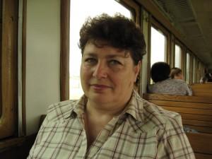 Мама в поезде