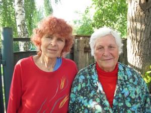Тетя Надя и бабушка Нина
