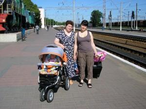 Мама и Вика