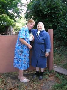 Бабушка и соседка