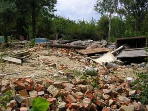 Руины хлебозавода