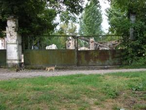 Ворота хлебозавода